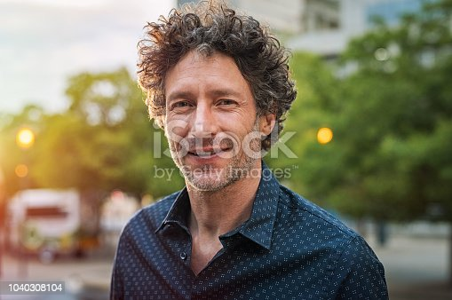istock Mature handsome business man 1040308104