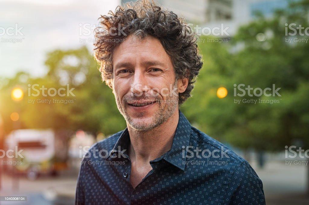 Reife schöne Geschäftsmann – Foto