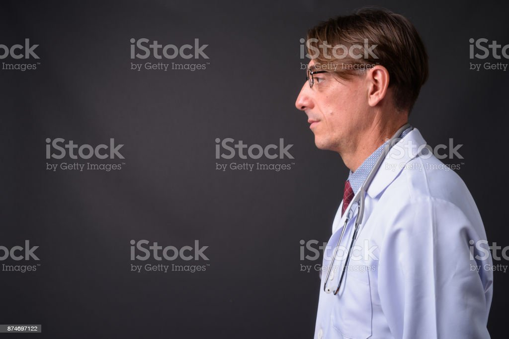 Mature italian doctor