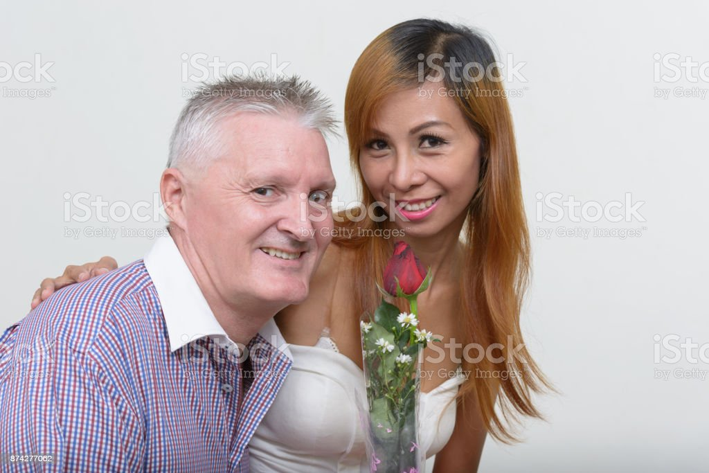 Asian woman and white man relationship