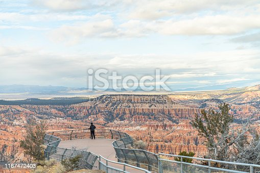 Travel in Bryce Canyon, Utah, USA, in the late fall.