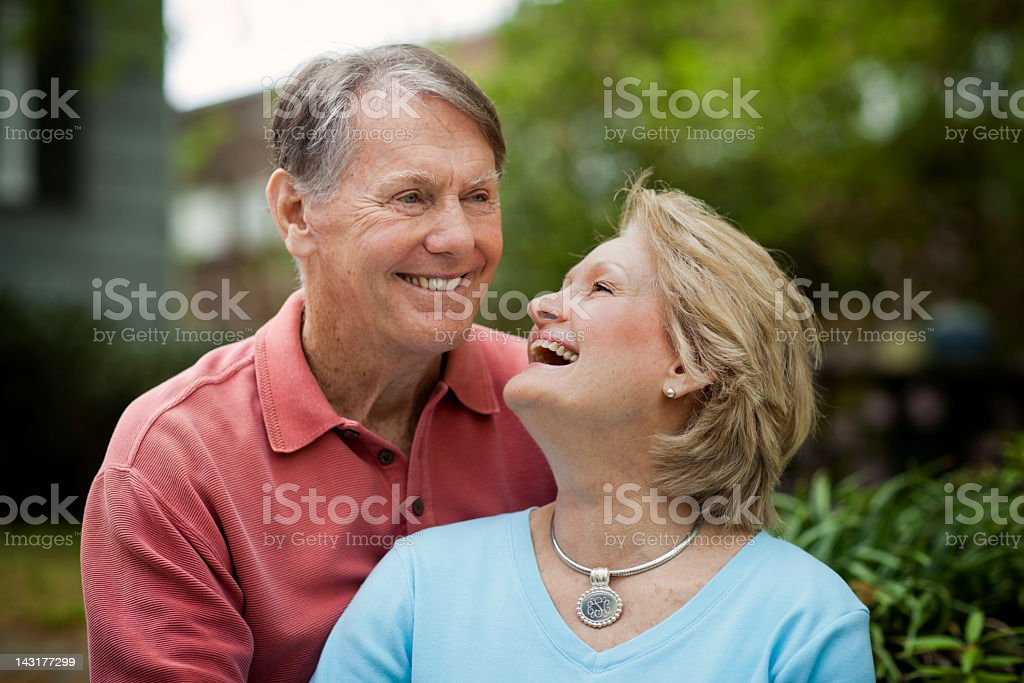 Mature Happy Couple royalty-free stock photo