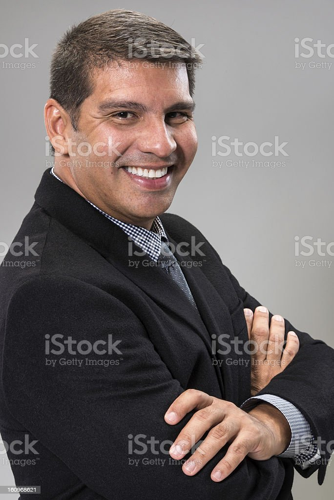 Mature Hispanic Executive royalty-free stock photo