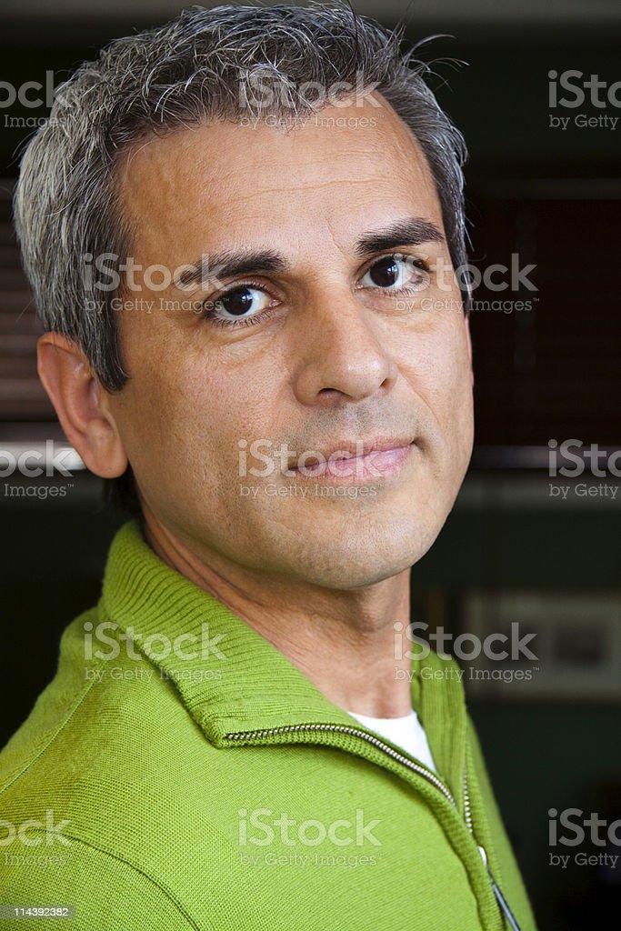 Mature Hispanic Man royalty-free stock photo