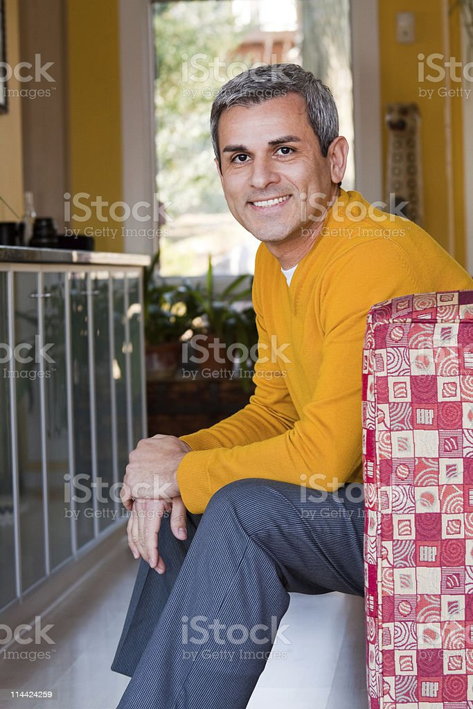 Mature Hispanic Man royalty-free stock photo