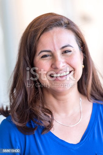825083310 istock photo Mature Hispanic Woman 588619400