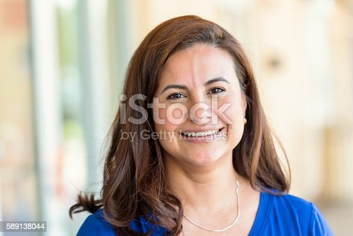 istock Mature Hispanic Woman 589138044