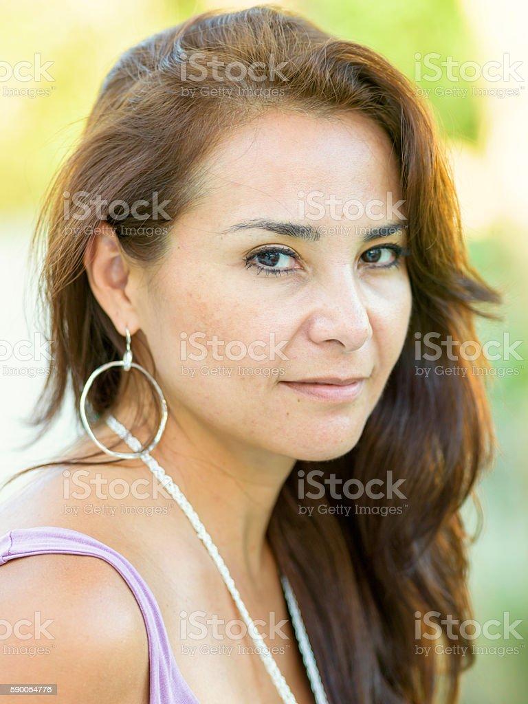 Madura mulher hispânica - foto de acervo