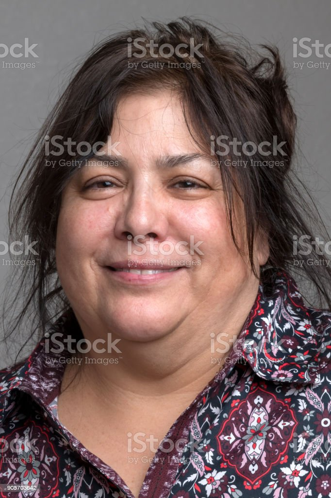 Mature housewife (real people) stock photo