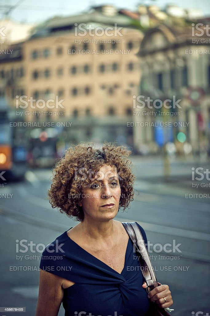 Femme mure italienne