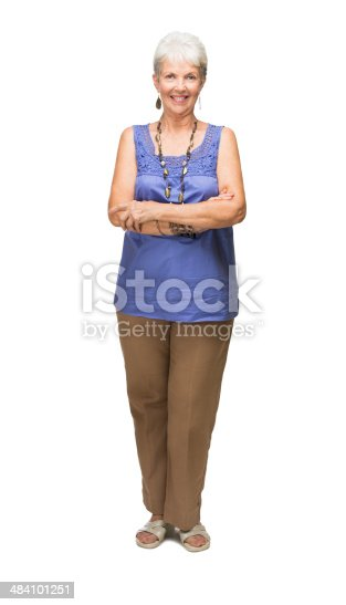 Mature Latin Woman Facing Forward With Her Arms Crossed Stock Photo  More Pictures Of -6821