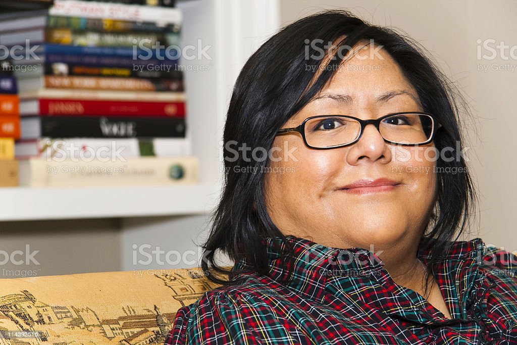 Mature latina glasses