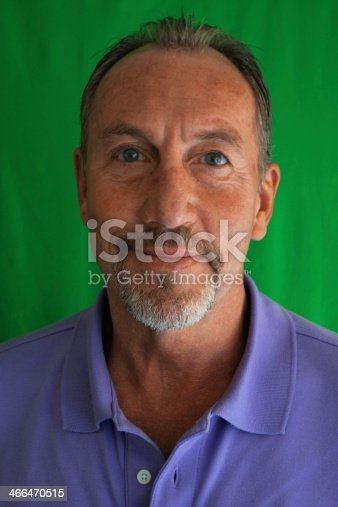 istock Mature man, head and shoulders 466470515