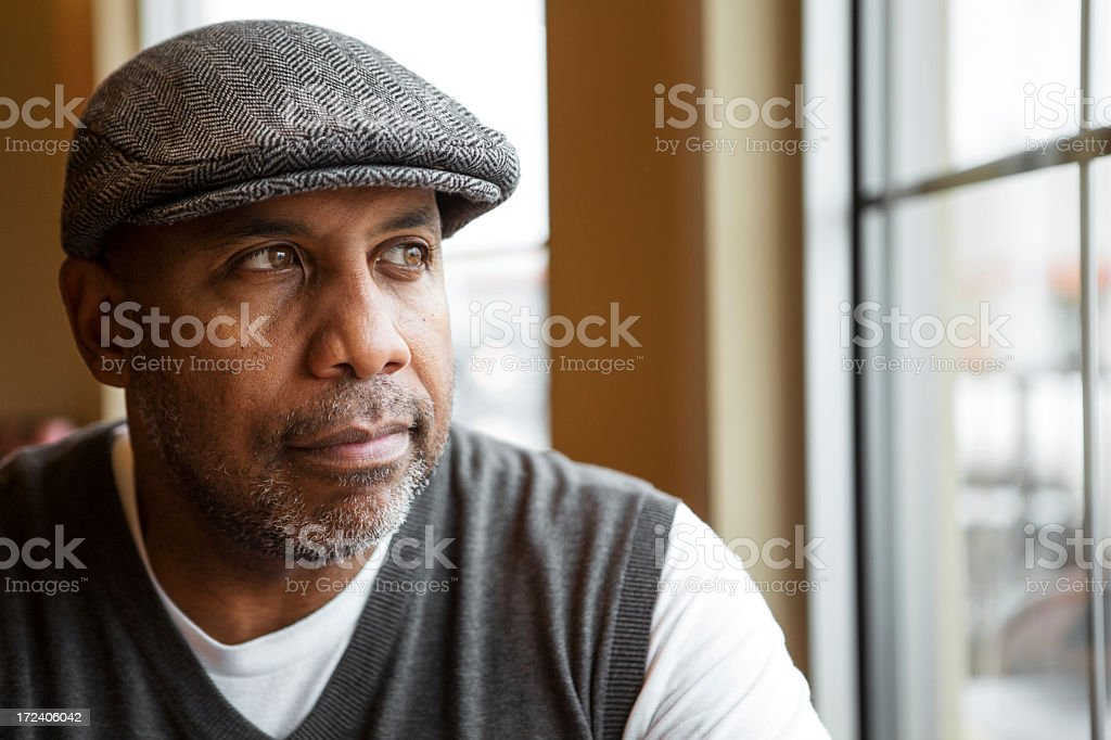 Mature Man stock photo