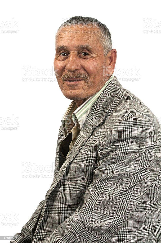 Mature man royalty-free stock photo