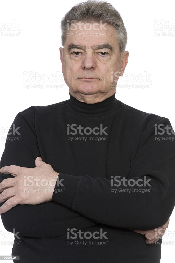 Mature Man royalty-free stock photo