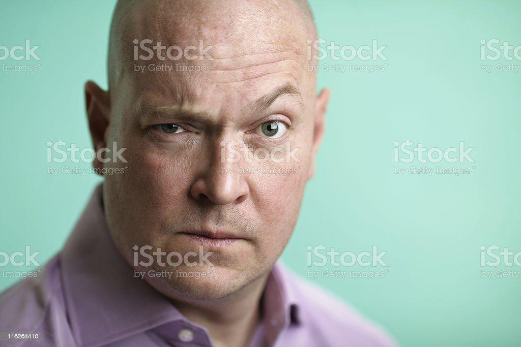 Mature Man Portrait stock photo
