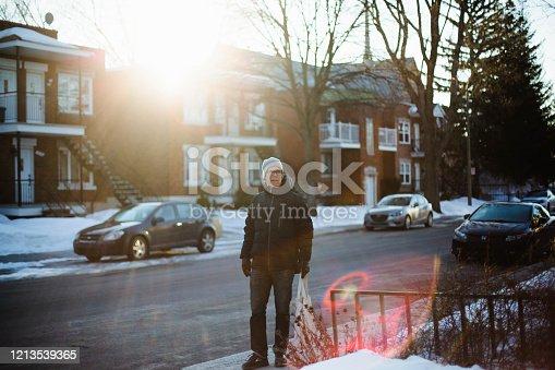Montreal, Canda, men, city street