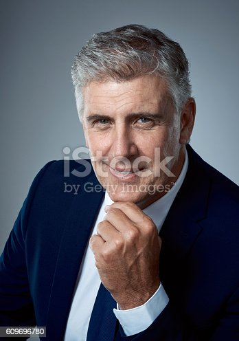 istock Mature men are in a class of their own 609696780