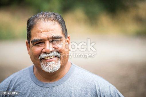 istock Mature Mexican Man Portrait 831721382