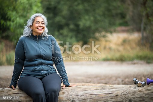 istock Mature Mexican Woman 831721122