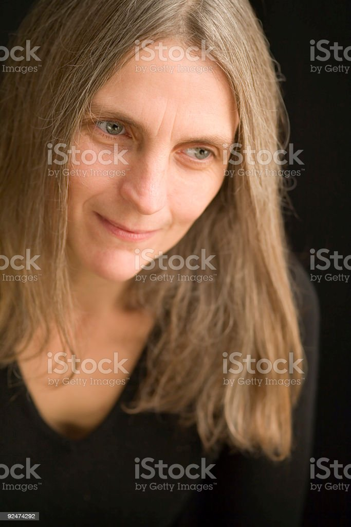 mature portrait royalty-free stock photo