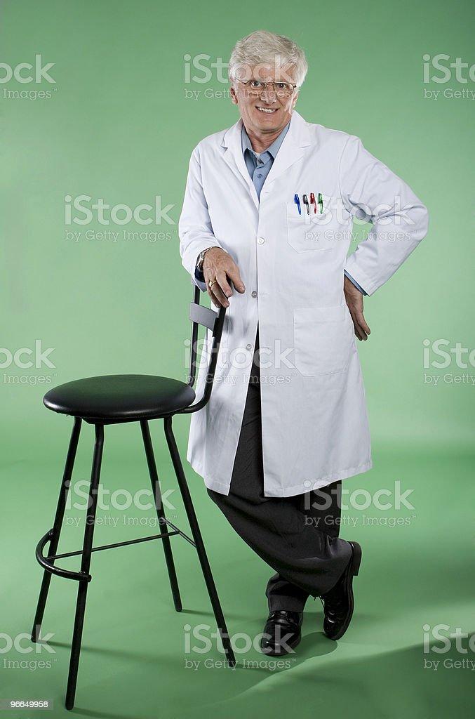 Mature Professor royalty-free stock photo