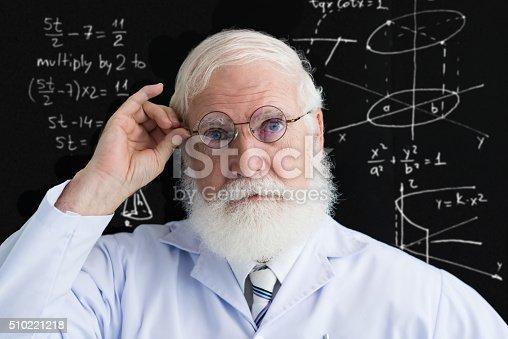 istock Mature scientist 510221218