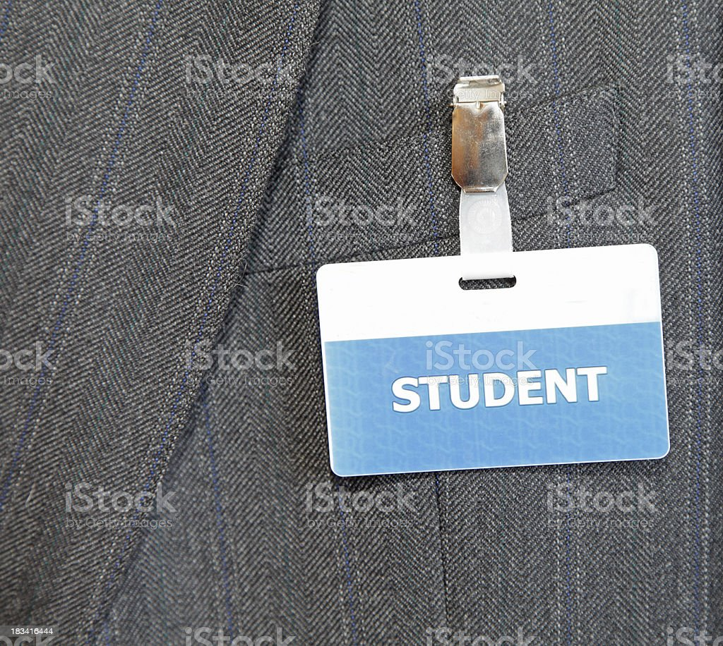 mature student concept royalty-free stock photo