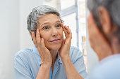 istock Mature woman aging 1044153532