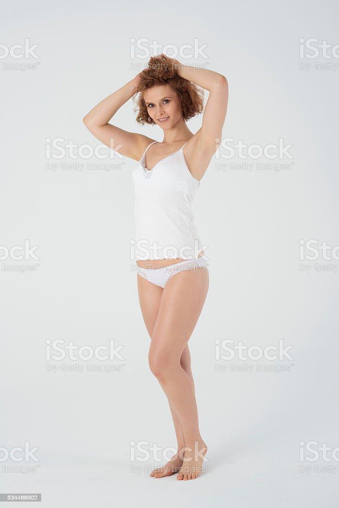 Vestido De Mujer Madura En Pijama Foto De Stock Y Más Banco