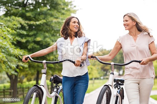 istock Mature woman friends 658600444