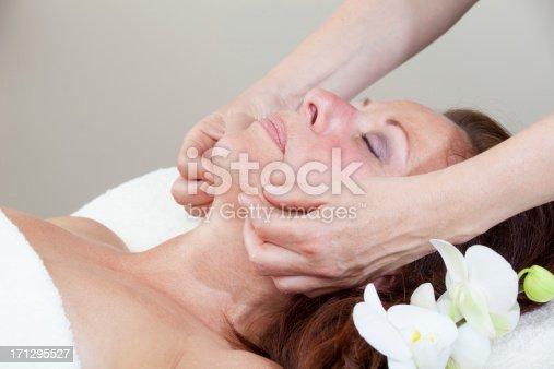 istock Mature Woman having relaxing massage 171295527