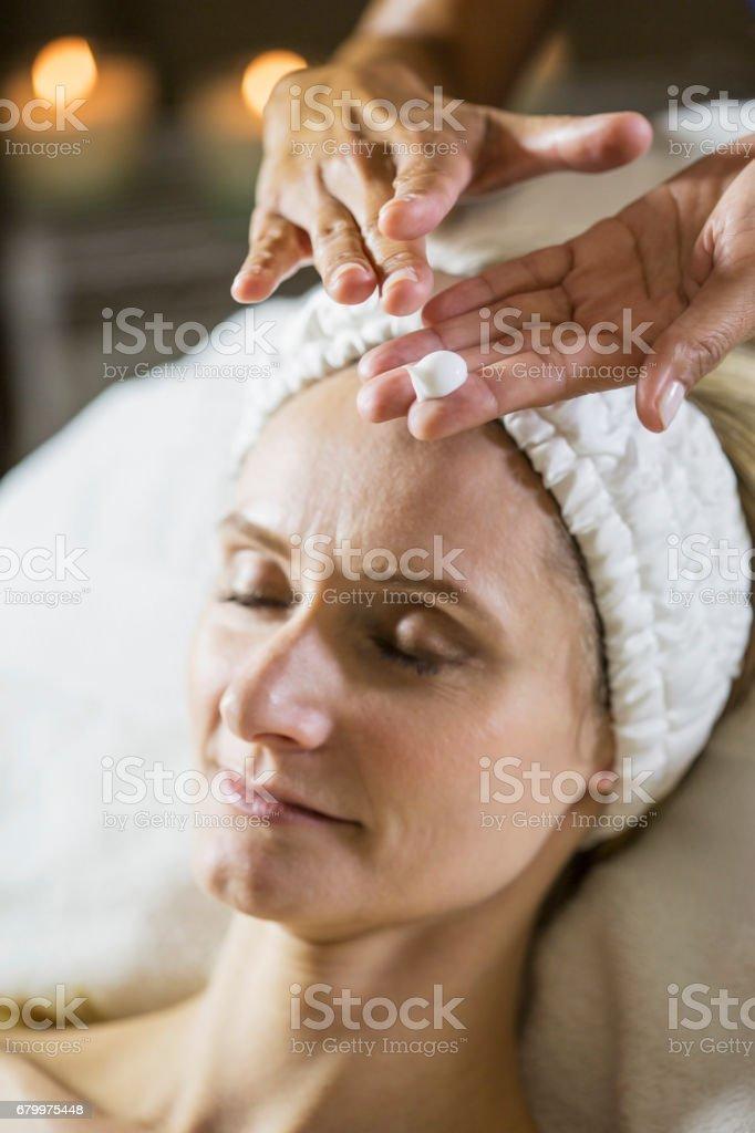 Old mature massage