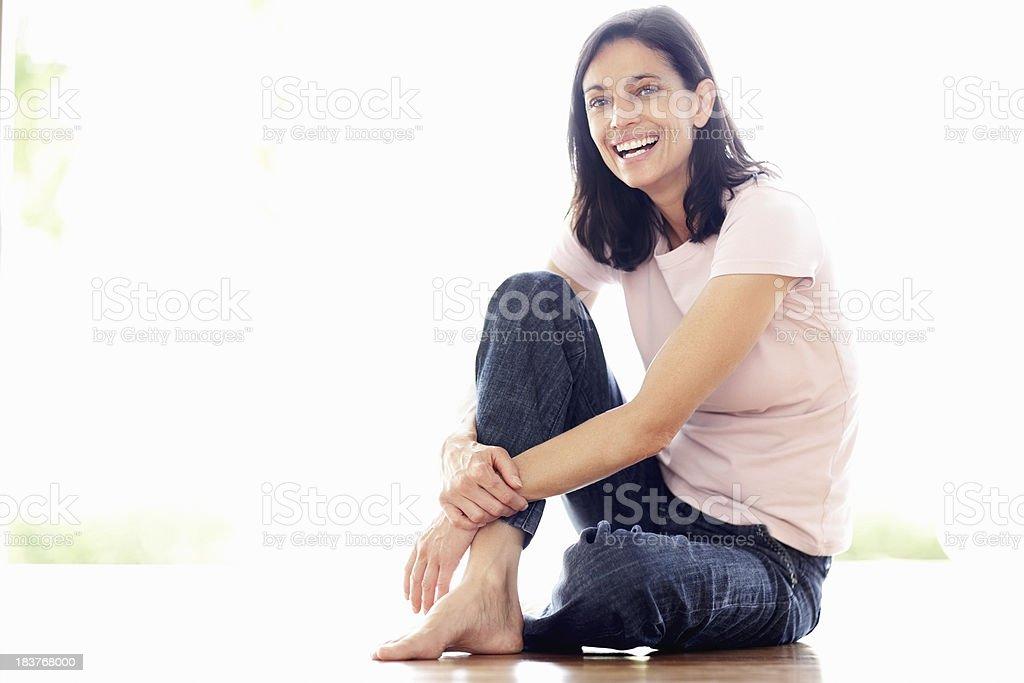 Rire femme d'âge mûr - Photo