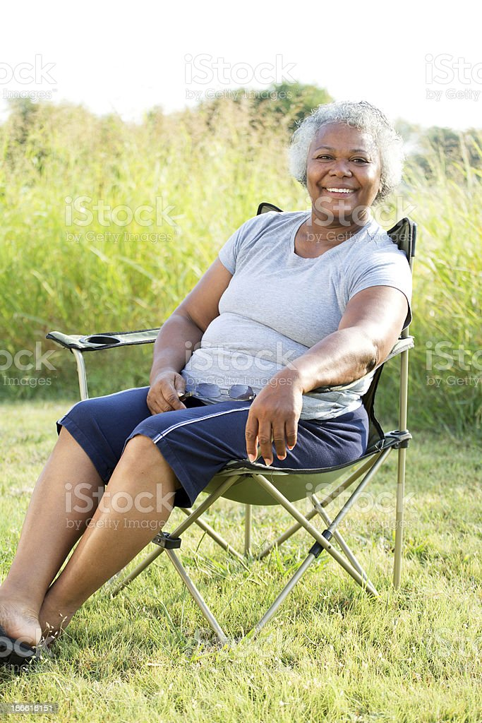 Mature Woman royalty-free stock photo