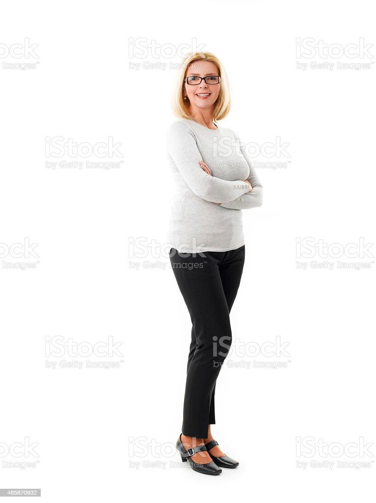 Femme d'âge mûr - Photo