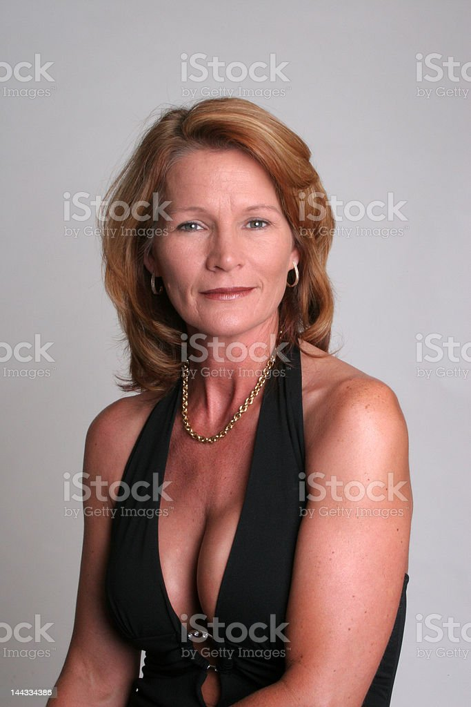 Mature Woman Pretty And Sexy Stock Photo