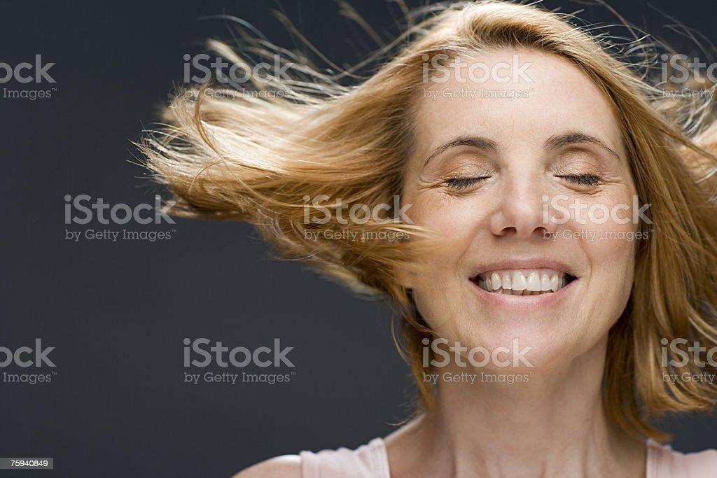 Donna Matura Scuotere La Testa - Fotografie stock e altre immagini di 50-54  anni - iStock