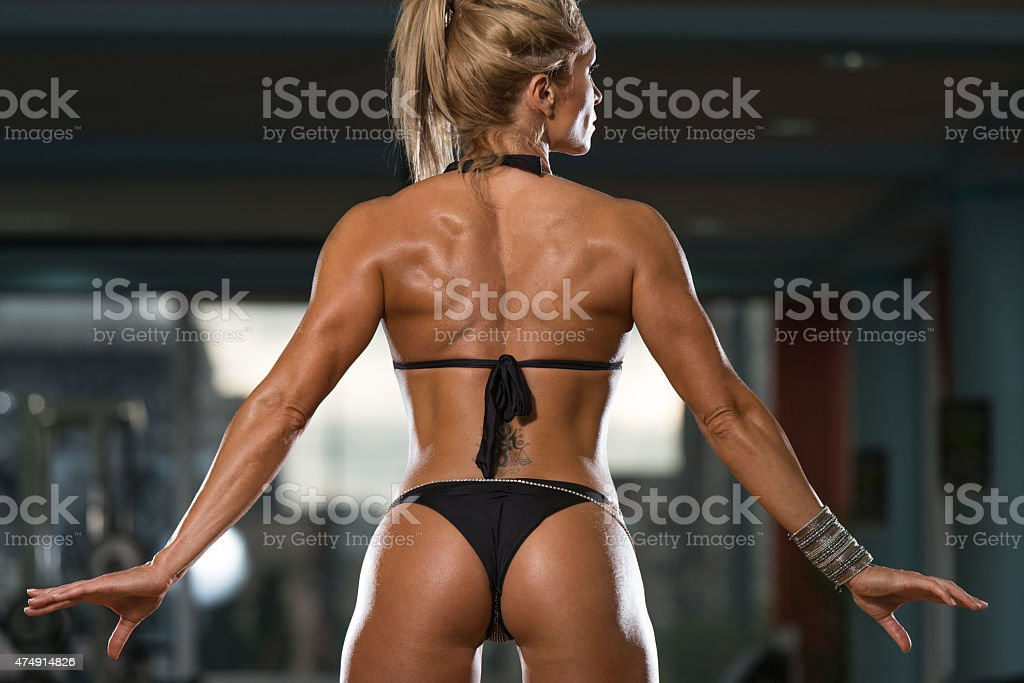 Mature Woman Showing Her Well Trained Ass Stock Image