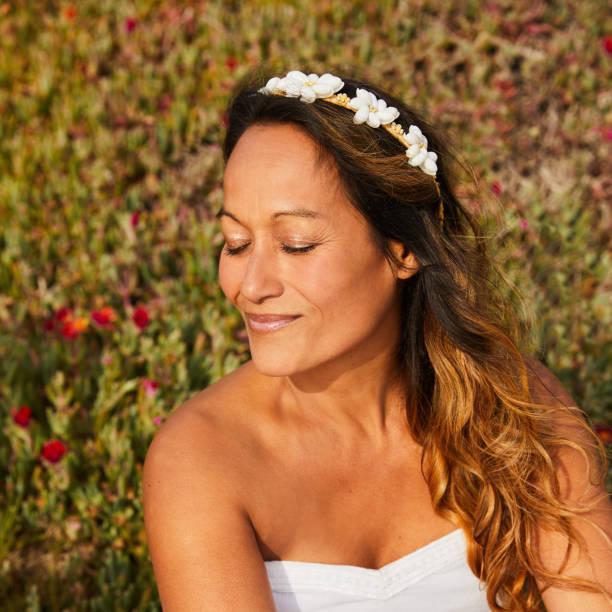 Polynesian Ethnicity Hawaiian Ethnicity Women Beauty In