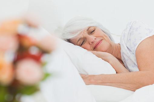 Mature sleeping women-7711