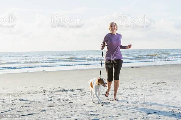 Mature woman walking dog on beach picture id522546976?b=1&k=6&m=522546976&s=612x612&h=q pbpxtruyvfqgljsxlr64cxns7a  l0k0mldw6onsu=