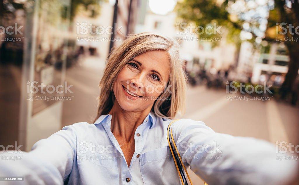reife weibliche selfies
