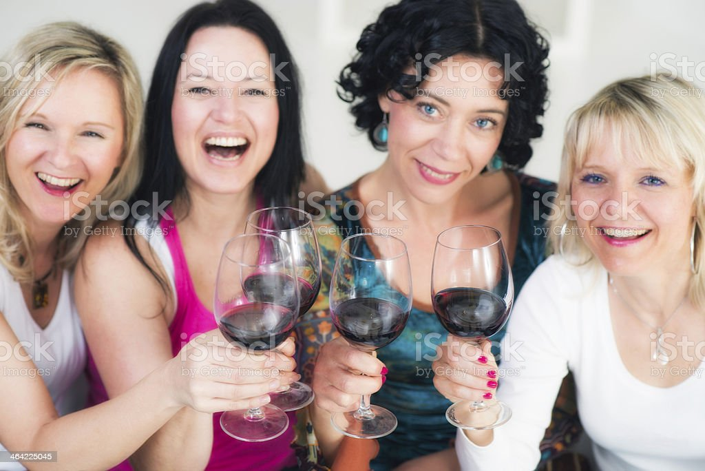 All mature women party