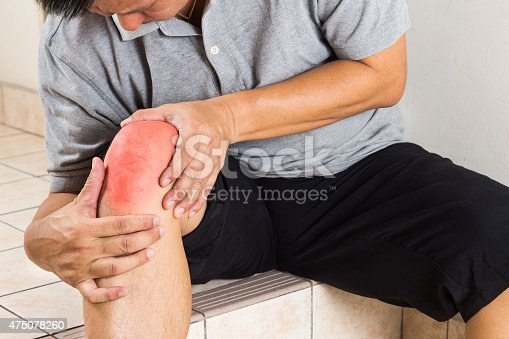 181879982istockphoto Matured man suffering acute knee joint pain seated on steps 475078260