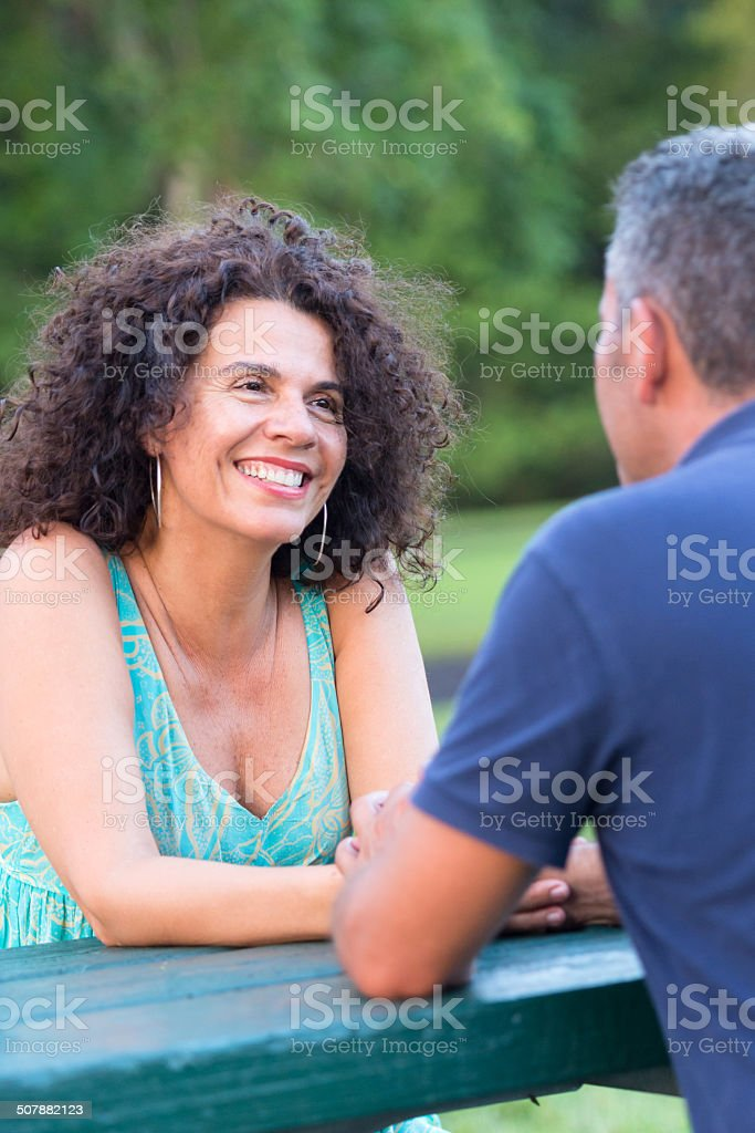 Matures Dating Royalty Free Stock Photo