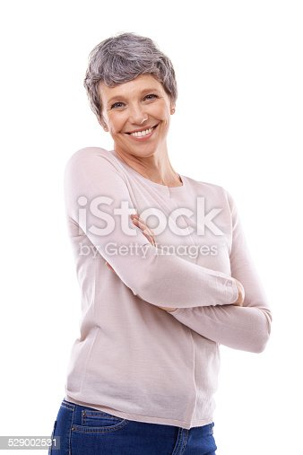 1173001813istockphoto Maturity has given her confidence 529002531