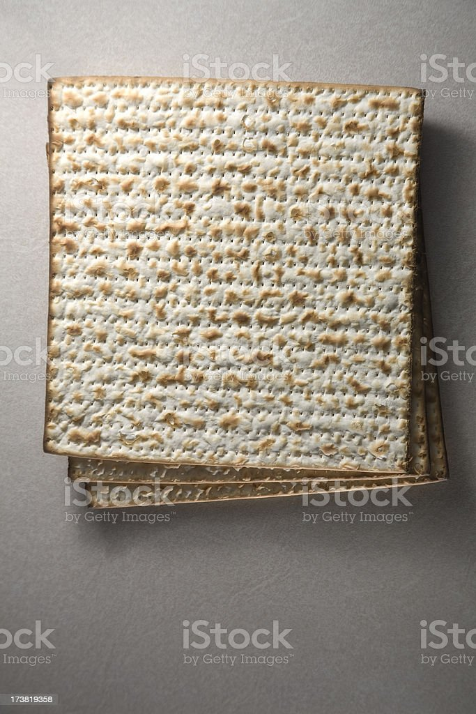 Matzah royalty-free stock photo