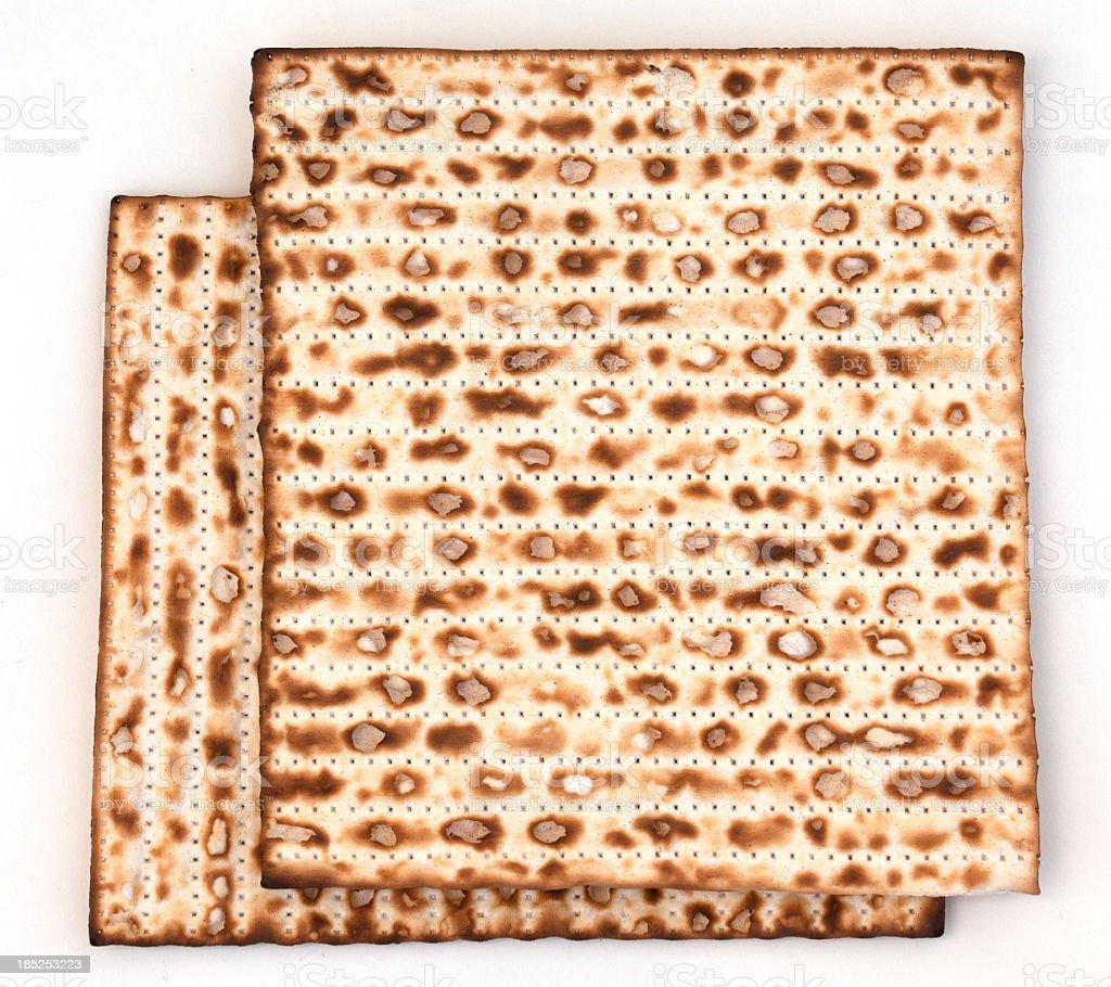 Matzo bread royalty-free stock photo